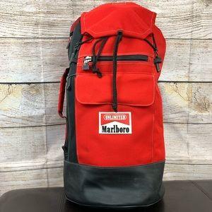 vintage Marlboro Unlimited Top Loading Duffle Bag
